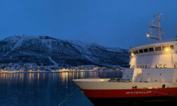 Working aboard the Hurtigruten in Norway