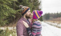 Scandinavian couple in love