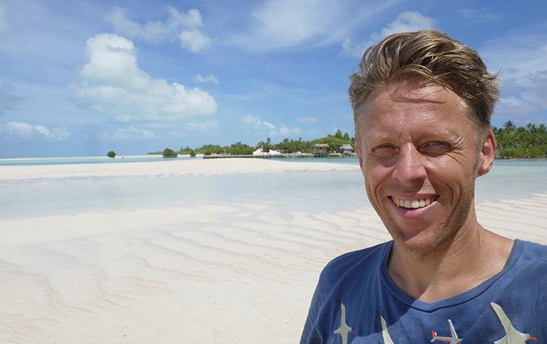 Gunnar Garfors the Wandering Norwegian in Kiribati