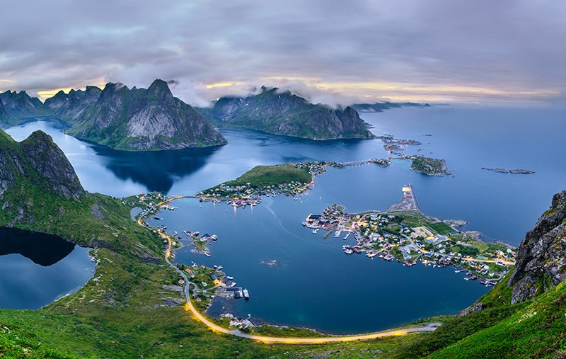 The environment of the Lofoten islands