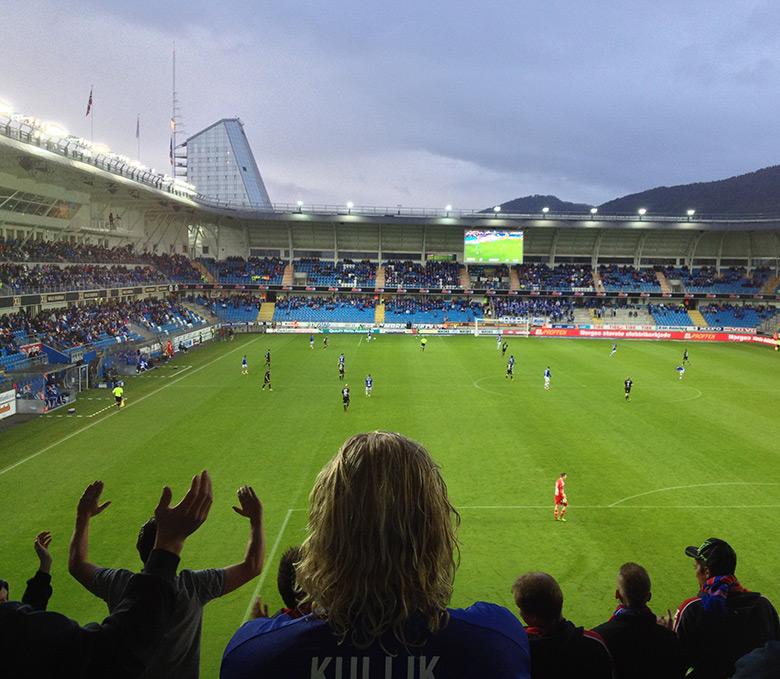 Molde v Vålerenga at Aker Stadion