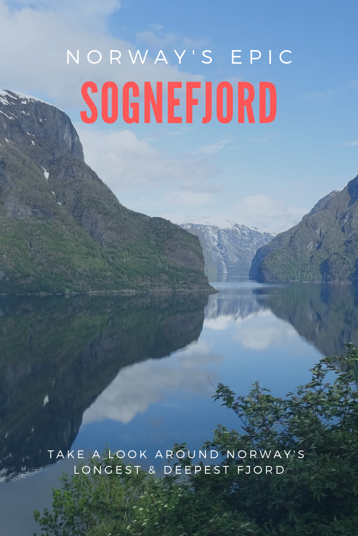 Visit the Sognefjord in Norway, one of the world's largest fjords.