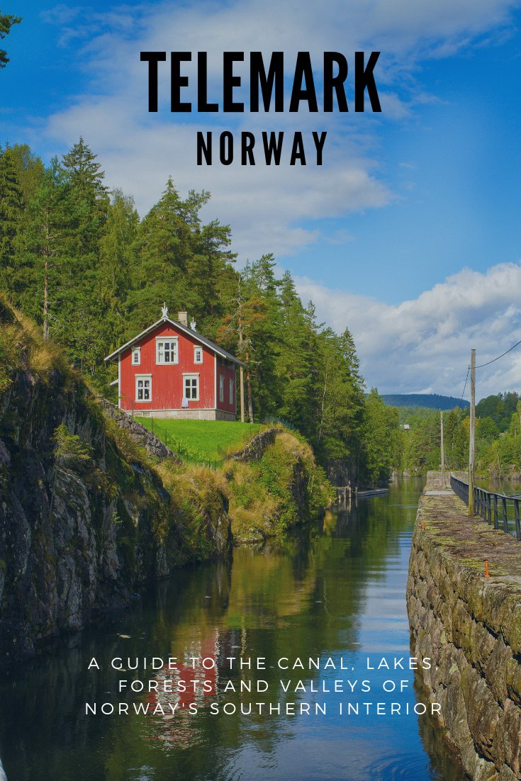 Telemark Norway is a largely forested region of southern Norway, known for its canal, lakes and valleys.