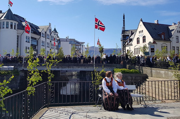 17th May in Ålesund