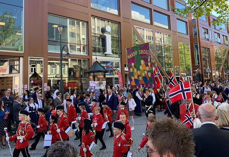 Barnetoget in Trondheim 2019