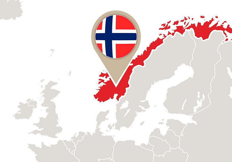 Geography Now map of Norway