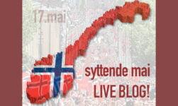 Live Blog Syttende Mai
