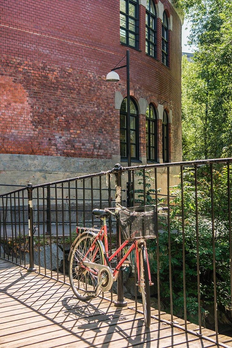 Urban cycling in Oslo, Norway