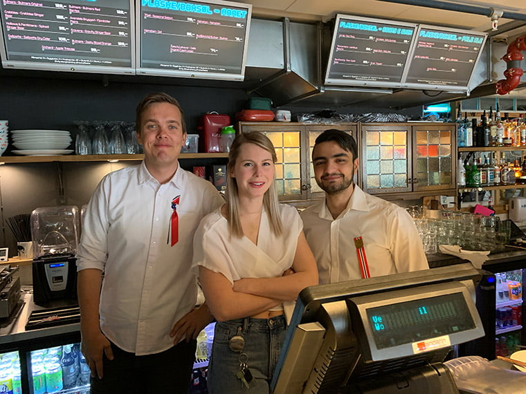 Bar staff at Work-Work in Trondheim