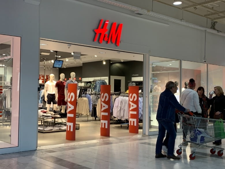 H&M store in Tiller, Norway