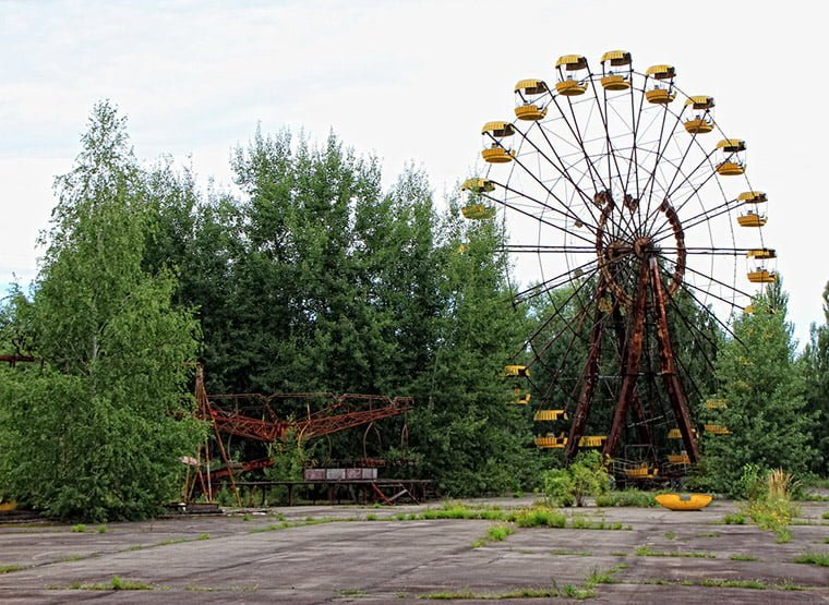 The abandoned fairground of Pripyat