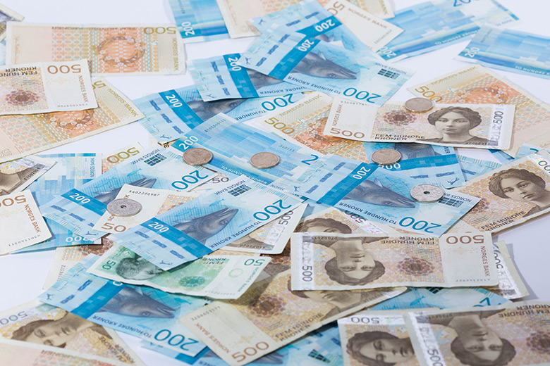 Norwegian krone tax rebate