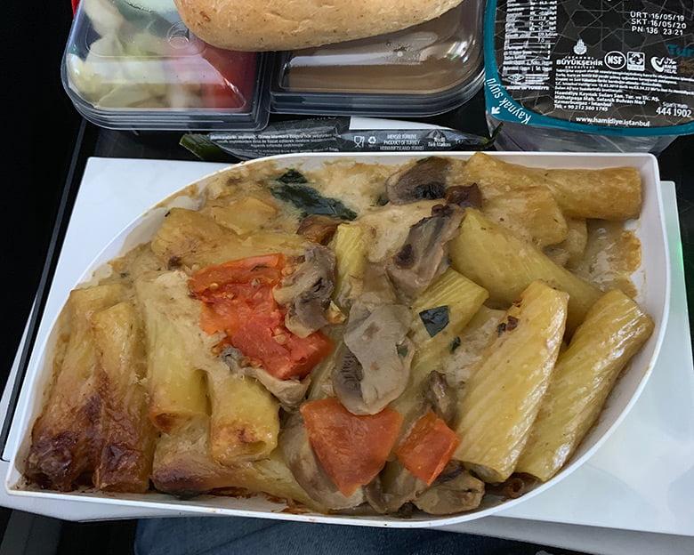Pasta flight meal