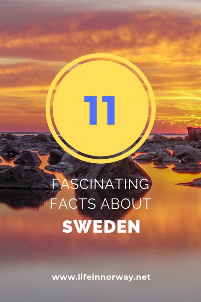 11 Fascinating Facts About Sweden, Norway's Scandinavian Sibling