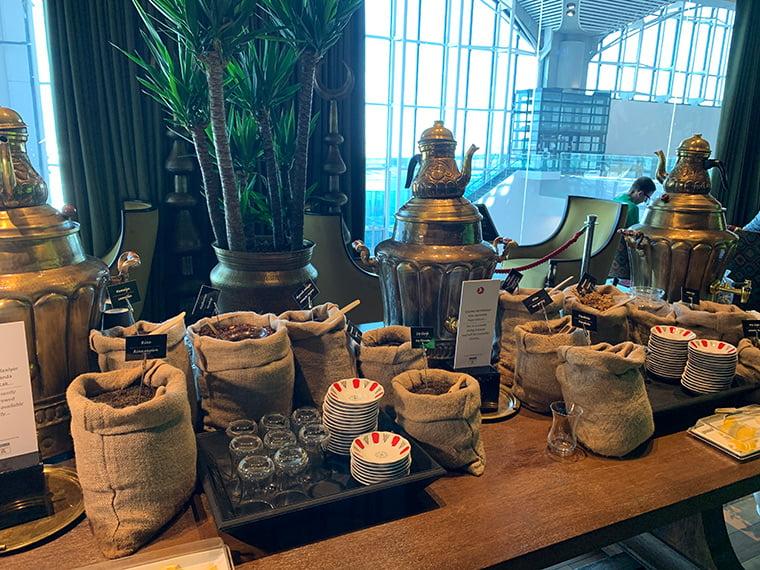 Tea bar at Istanbul Airport