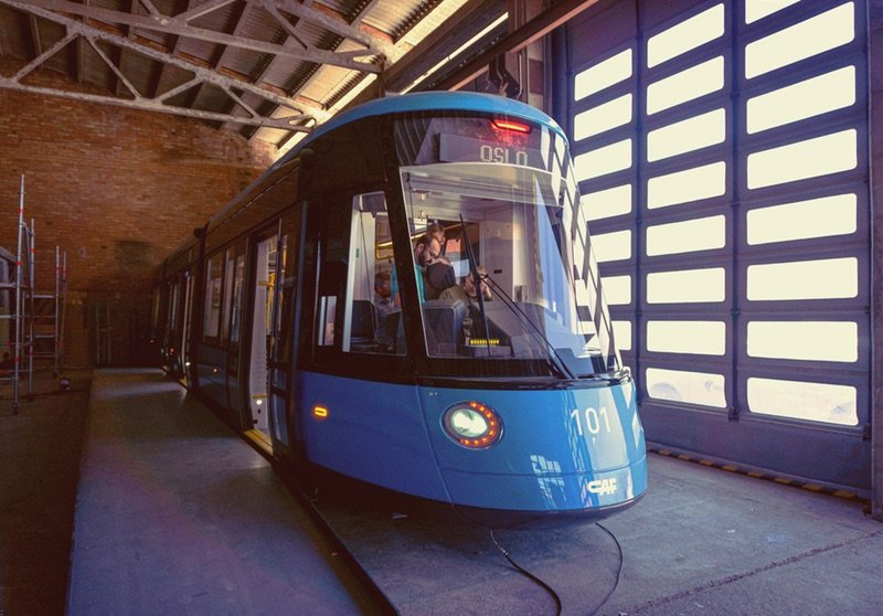 The new design tram will hit the streets of Oslo in the winter 2020-21