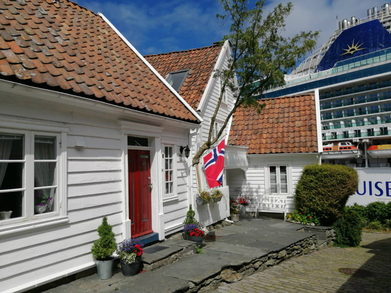 Small house Stavanger Old Town