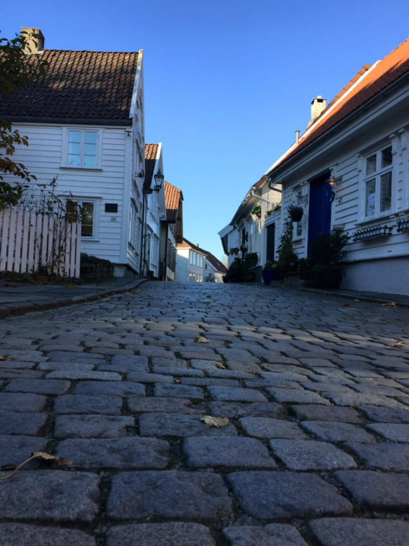 Stavanger Old Town low cobbles 2