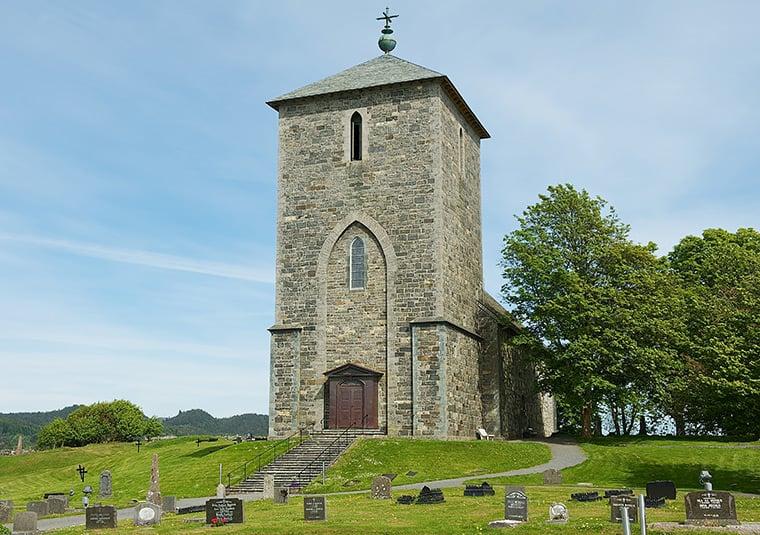 Avaldsnes Church in Norway