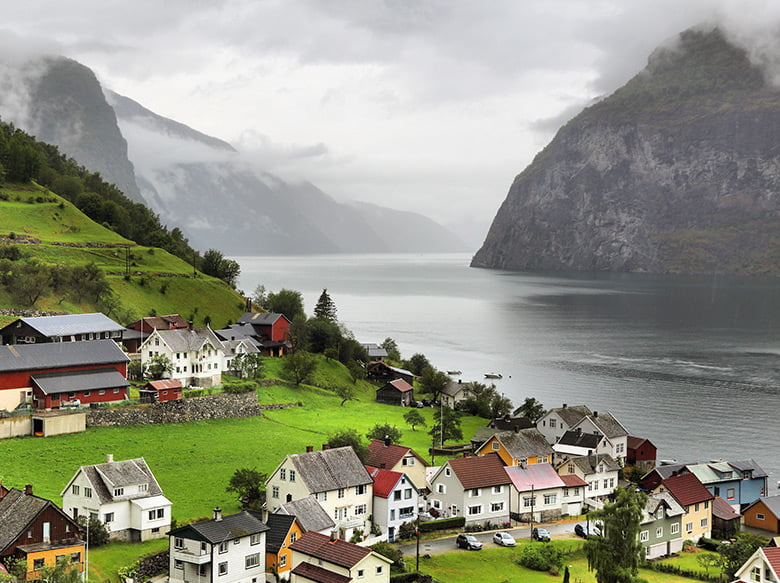 Beautiful Undredal in Norway