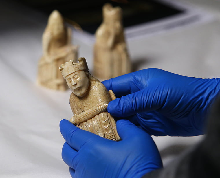 Examination of the Lewis Chessmen