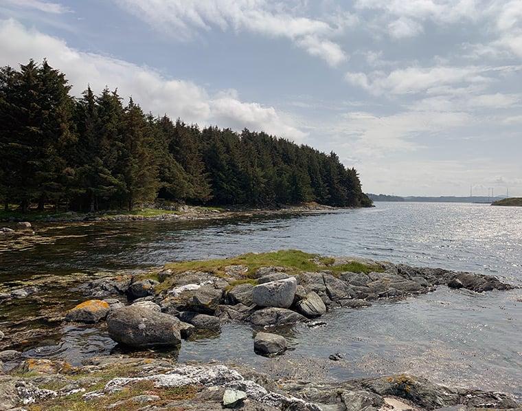 The island of Karmøy, Norway