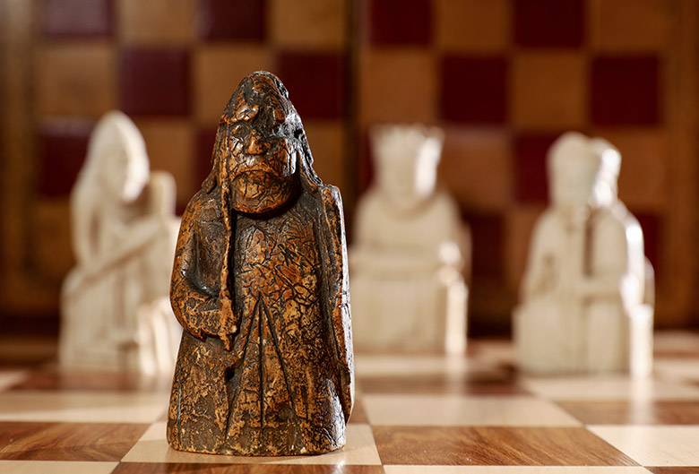 The Lewis Chessman recently rediscovered