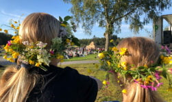 Midsummer celebrations in Norway