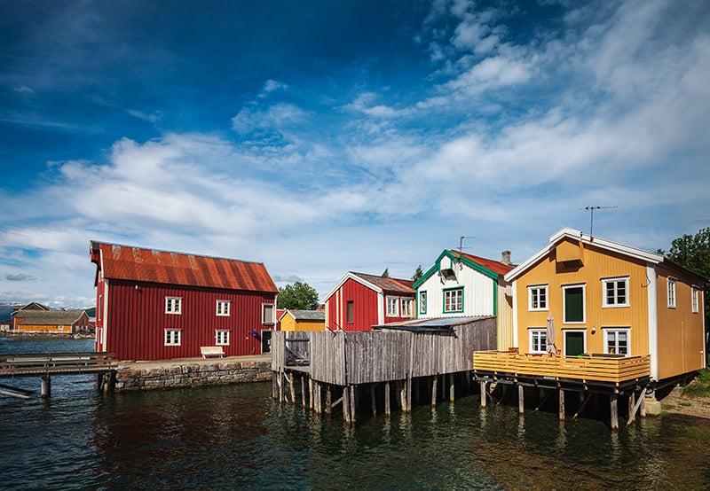 Mosjøen in Norway