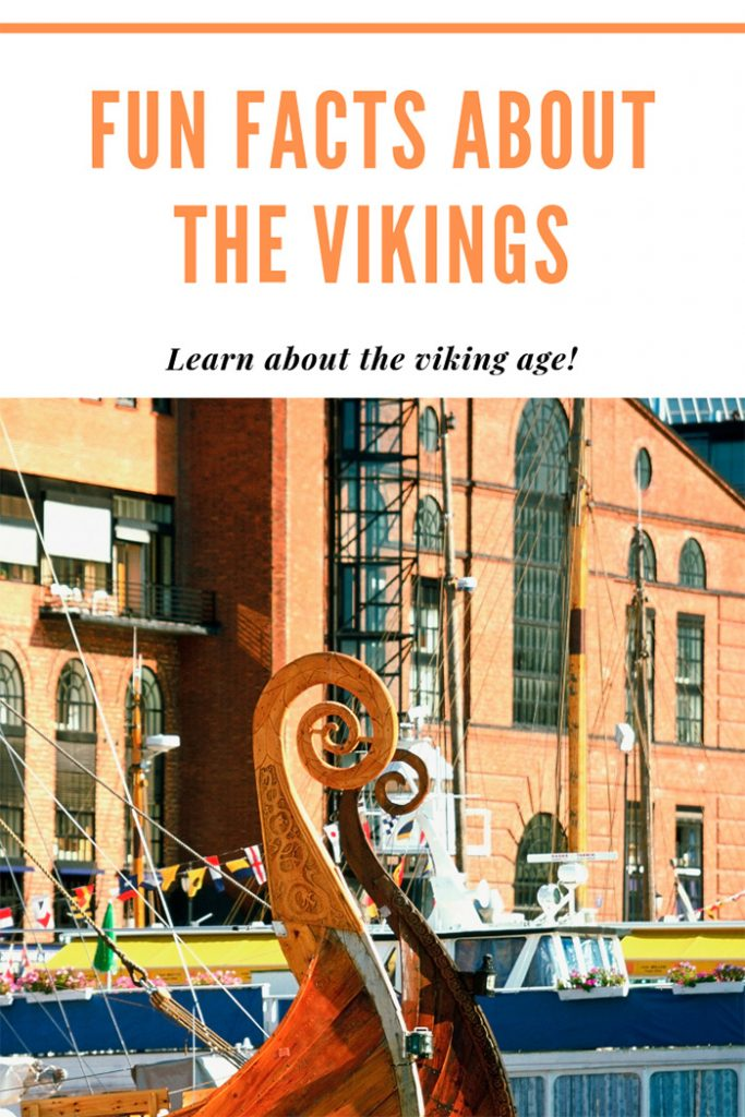 Fun facts about the Vikings