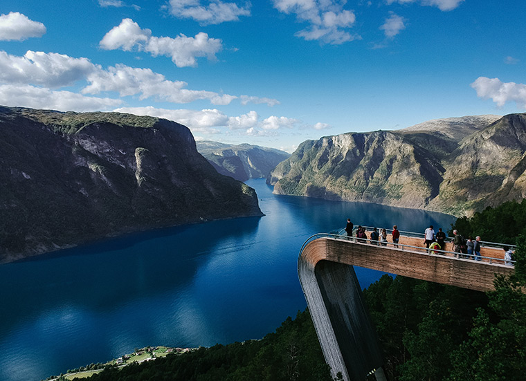 Stegastein viewpoint in Norway