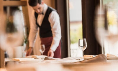 Waiting tables in Oslo Norway comes with a minimum wage