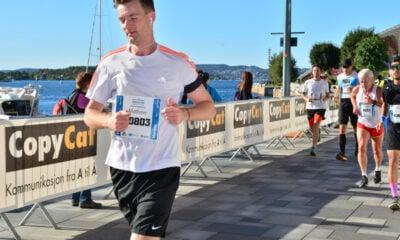 Running the Oslo marathon