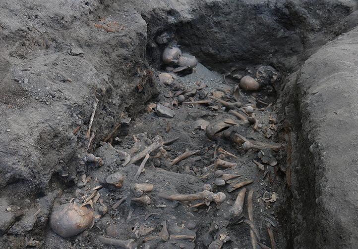 Burial pit in Kjøpmannsgata, Trondheim