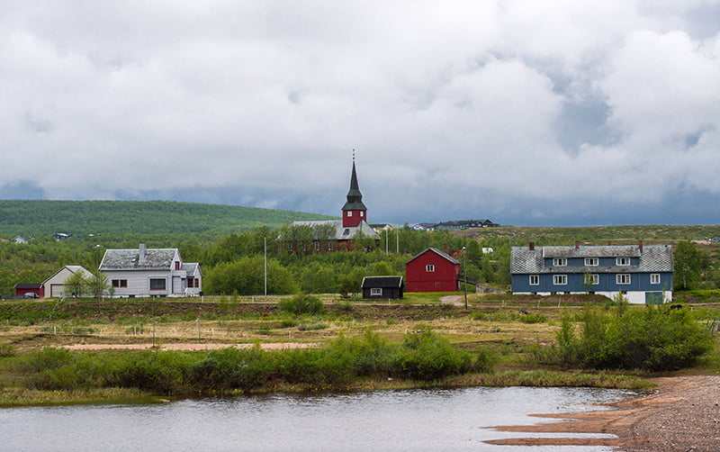 Kautokeino in Finnmark, Norway
