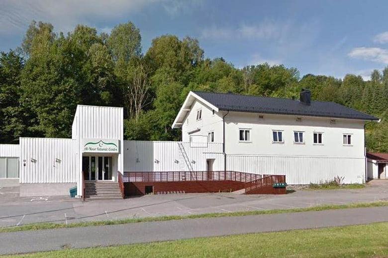 The mosque in Bærum, Norway