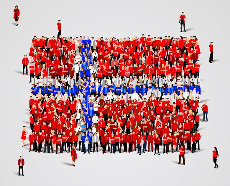 Norway's voting population