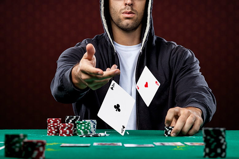 A Norwegian poker player