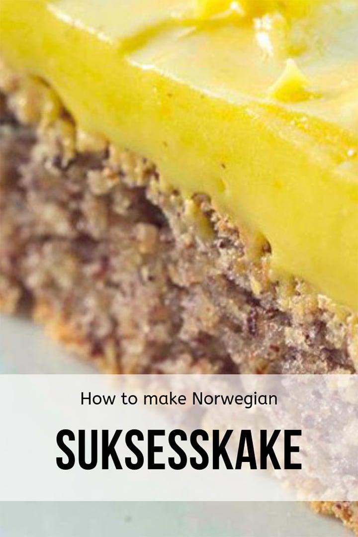 Suksesskake Recipe: How to make Norway's success cake