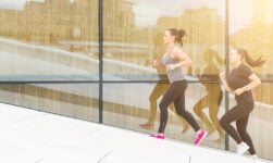Running at Oslo Opera House