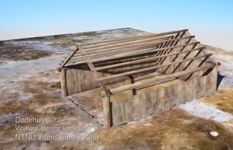Construction of the Viking Age burial house