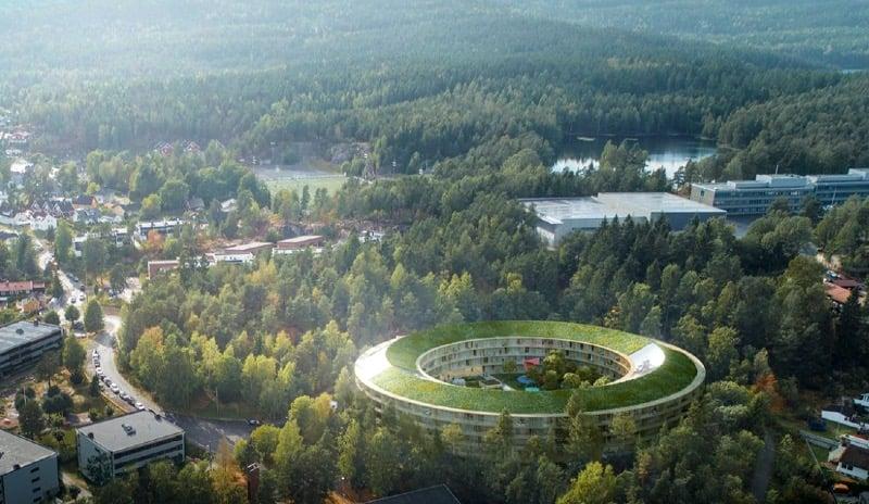 Energy-positive housing in Oslo