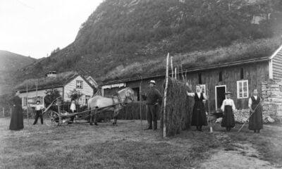 A farm in western Norway, c.1890