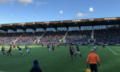 A football match at Viking Stadion in Stavanger