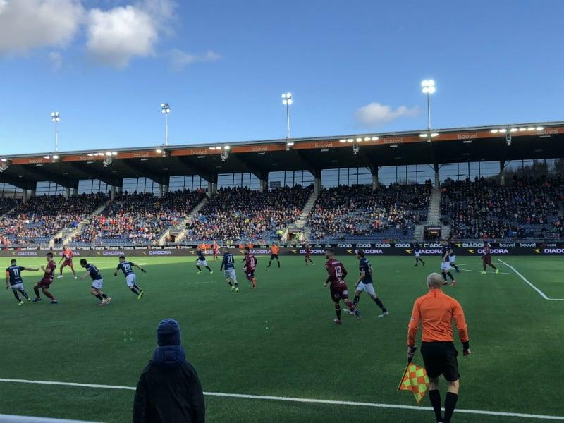 Viking Stadium match