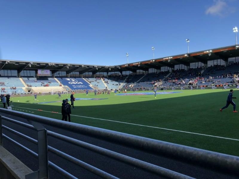 empty viking stadium