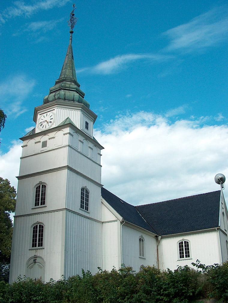 The original Østre Porsgrunn Church