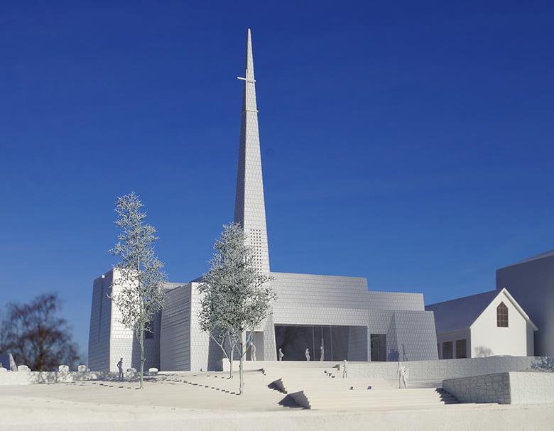 Porsgrunn Church architecture