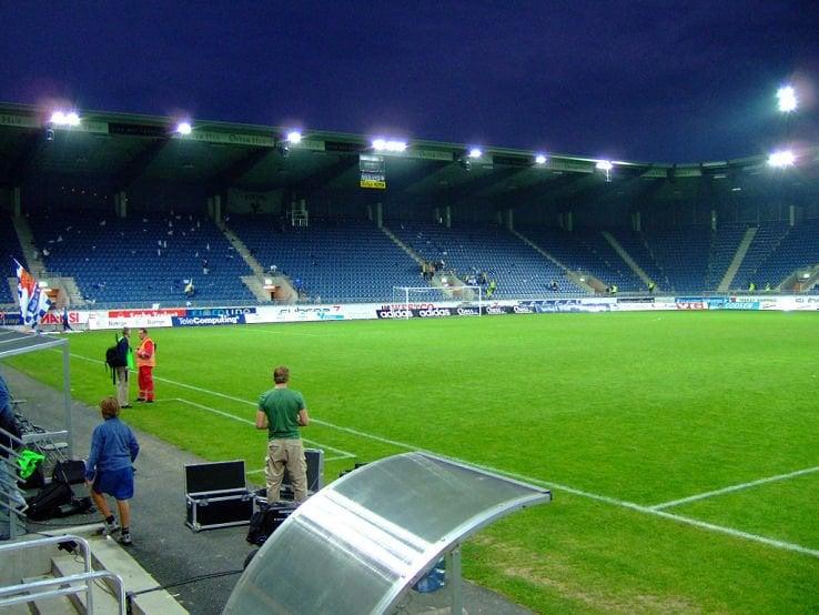 Soccer stadium in Stavanger, Norway