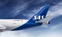 Subtle new SAS livery